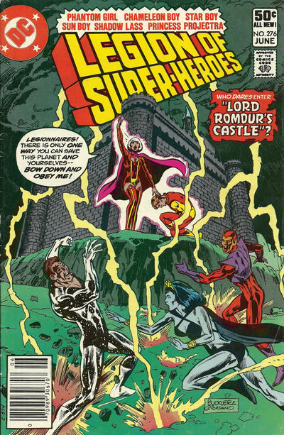 Cover for The Legion of Super-Heroes (DC, 1980 series) #276 [Direct]