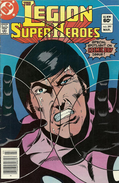 Cover for The Legion of Super-Heroes (DC, 1980 series) #297 [Direct]