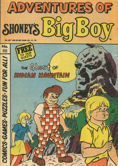Cover for Adventures of Big Boy (Paragon Products, 1976 series) #68