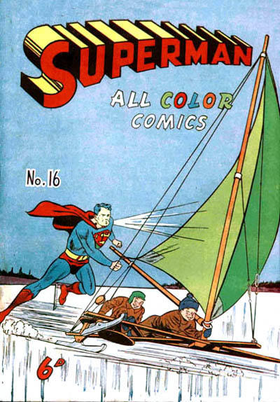 Cover for Superman (K. G. Murray, 1947 series) #16