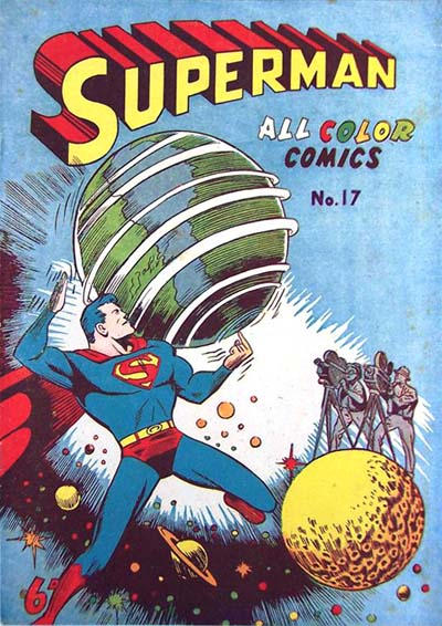 Cover for Superman (K. G. Murray, 1947 series) #17