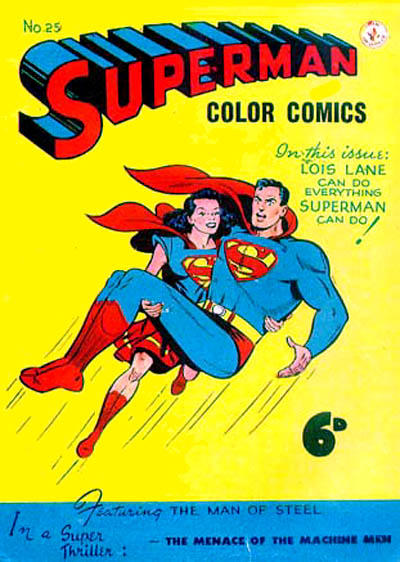 Cover for Superman (K. G. Murray, 1947 series) #25