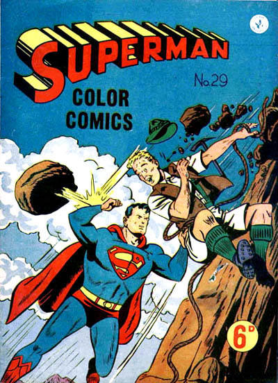 Cover for Superman (K. G. Murray, 1947 series) #29