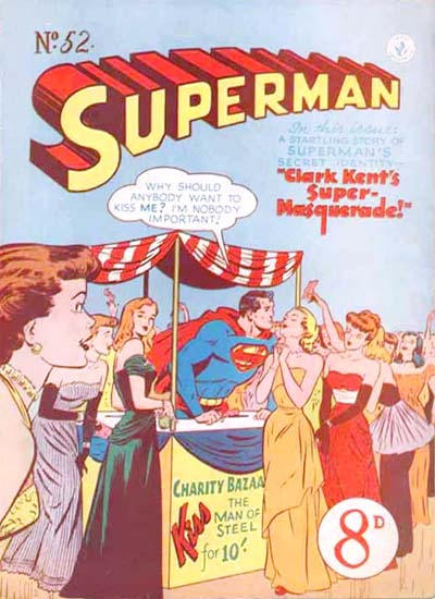 Cover for Superman (K. G. Murray, 1947 series) #52