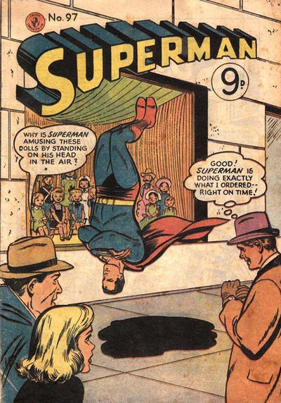 Cover for Superman (K. G. Murray, 1947 series) #97
