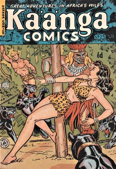 Cover for Kaänga Comics (H. John Edwards, 1950 ? series) #23