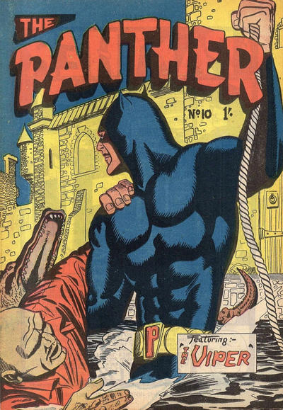 Cover for Paul Wheelahan's The Panther (Young's Merchandising Company, 1957 series) #10