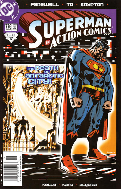 Cover for Action Comics (DC, 1938 series) #776 [Direct Sales]