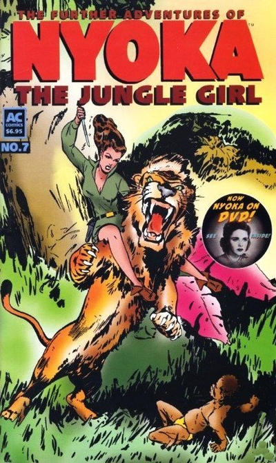 Cover for The Further Adventures of Nyoka the Jungle Girl (AC, 1988 series) #7