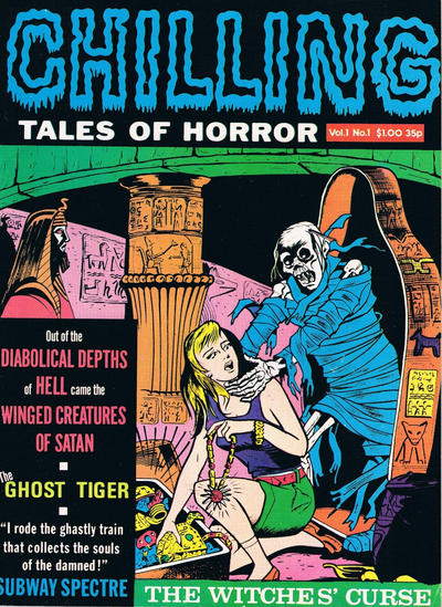 Cover for Chilling Tales of Horror (Portman Distribution, 1979 series) #1