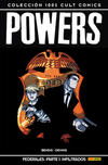 Cover for 100% Cult Comics. Powers (Panini España, 2009 series) #15 - Federales. Parte 1: Infiltrados