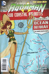 Cover for Aquaman (DC, 2011 series) #32 [DC Bombshells Cover]