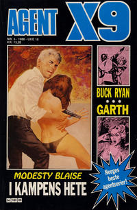 Cover Thumbnail for Agent X9 (Semic, 1976 series) #5/1986