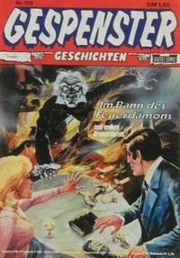 Cover Thumbnail for Gespenster Geschichten (Bastei Verlag, 1974 series) #179