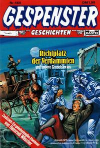 Cover Thumbnail for Gespenster Geschichten (Bastei Verlag, 1974 series) #460
