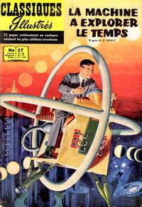 Cover Thumbnail for Classiques Illustrés (Publications Classiques Internationales, 1957 series) #17 - La machine à explorer le temps