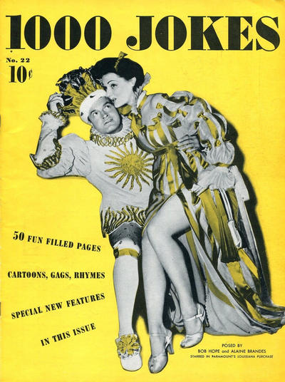 Cover for 1000 Jokes (Dell, 1939 series) #22