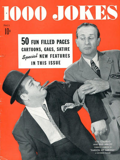 Cover for 1000 Jokes (Dell, 1939 series) #24