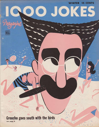 Cover for 1000 Jokes (Dell, 1939 series) #65