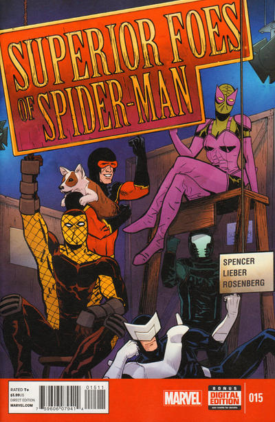 Cover for The Superior Foes of Spider-Man (Marvel, 2013 series) #15