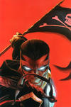 Cover Thumbnail for Black Terror (2008 series) #1 [Virgin Art Cover - Alex Ross]