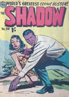 Cover for The Shadow (Frew Publications, 1952 series) #39