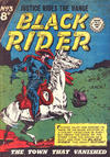 Cover for Black Rider (Horwitz, 1954 series) #3