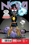 Cover for Nova (Marvel, 2013 series) #17