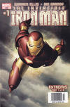 Cover for Iron Man (Marvel, 2005 series) #1 [newsstand Edition ]
