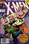 Cover Thumbnail for The Uncanny X-Men (1981 series) #278 [Australian Newsstand]