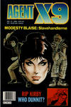 Cover for Agent X9 (Semic, 1976 series) #10/1990