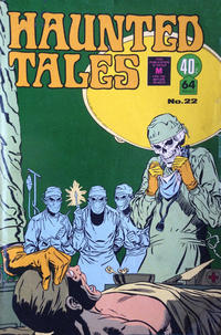 Cover Thumbnail for Haunted Tales (K. G. Murray, 1973 series) #22