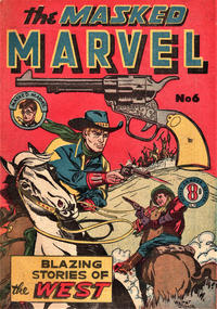 Cover Thumbnail for The Masked Marvel (Atlas, 1953 ? series) #6