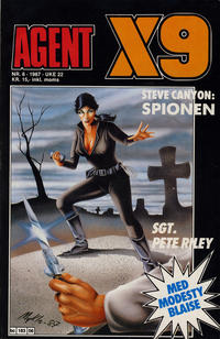 Cover Thumbnail for Agent X9 (Semic, 1976 series) #6/1987