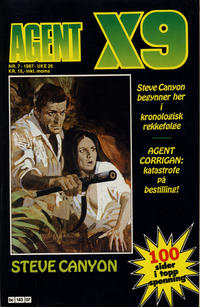 Cover Thumbnail for Agent X9 (Semic, 1976 series) #7/1987