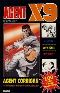 Cover Thumbnail for Agent X9 (Semic, 1976 series) #5/1987