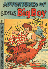 Cover Thumbnail for Adventures of Big Boy (Paragon Products, 1976 series) #21