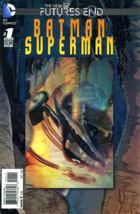 Cover Thumbnail for Batman / Superman: Futures End (DC, 2014 series) #1 [3-D Motion Cover]