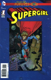 Cover Thumbnail for Supergirl: Futures End (DC, 2014 series) #1 [3-D Motion Cover]