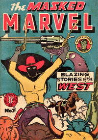 Cover Thumbnail for The Masked Marvel (Atlas, 1953 ? series) #7