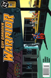 Cover Thumbnail for Guy Gardner: Warrior (DC, 1994 series) #29 [Standard Edition - Newsstand]