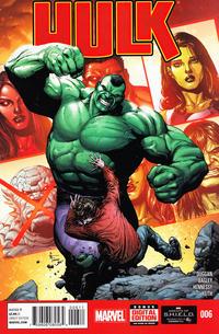 Cover Thumbnail for Hulk (Marvel, 2014 series) #6 [Gary Frank Cover]