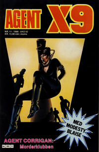 Cover Thumbnail for Agent X9 (Semic, 1976 series) #11/1988