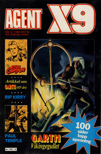 Cover Thumbnail for Agent X9 (Semic, 1976 series) #12/1988