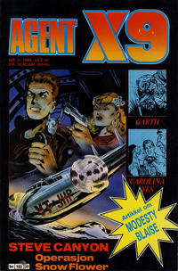 Cover Thumbnail for Agent X9 (Semic, 1976 series) #3/1989