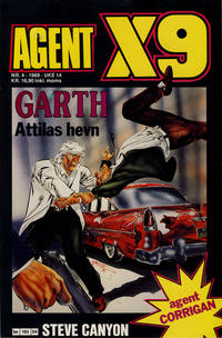 Cover Thumbnail for Agent X9 (Semic, 1976 series) #4/1989