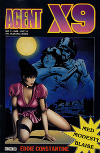 Cover Thumbnail for Agent X9 (Semic, 1976 series) #5/1989