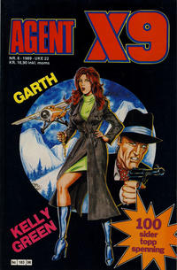 Cover Thumbnail for Agent X9 (Semic, 1976 series) #6/1989