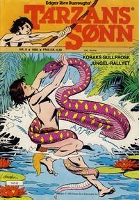 Cover Thumbnail for Tarzans Sønn (Atlantic Forlag, 1979 series) #8/1980
