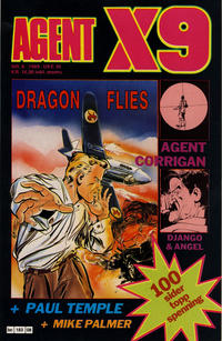 Cover Thumbnail for Agent X9 (Semic, 1976 series) #8/1989